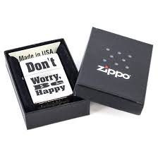 <b>Зажигалка Zippo</b> 200 <b>Don</b>'<b>t Worry</b> – купить в интернет-магазине ...