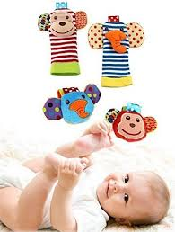 Happy Monkey Baby Wrist Rattles for Babies and Foot ... - Amazon.com