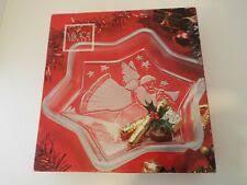 Mikasa Crystal Seasonal Table Platters Pieces for sale   eBay