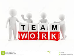 d people working as a team stock illustration image  3d people team work royalty stock images