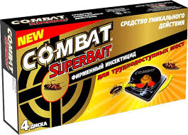 """<b>Ловушки для тараканов</b> """"Combat SuperBait"""", 4 шт — купить в ..."""