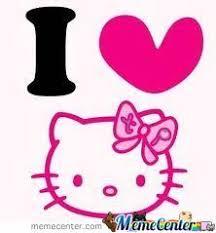 I Love Hello Kitty by shontel123 - Meme Center via Relatably.com