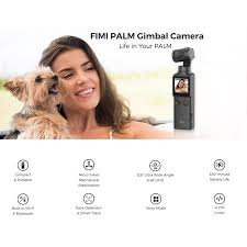 <b>FIMI PALM 3</b>-<b>axis</b> Gimbal Handheld Stabilizers <b>4K UHD</b> Bluetooth ...
