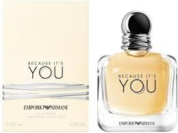 <b>Giorgio Armani Emporio Armani Because</b> It's You EdP 100ml in duty ...