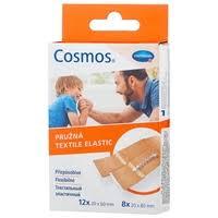 Cosmos <b>Textile Elastic пластырь</b> текстильный эластичный 20 шт ...