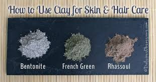 How to Use <b>Clay</b> for Skin and Hair Care (<b>Bentonite</b>, <b>French Green</b> ...