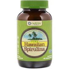 <b>Nutrex Hawaii</b>, <b>Pure Hawaiian Spirulina</b>, <b>500</b> mg, 400 Tablets (200 g ...