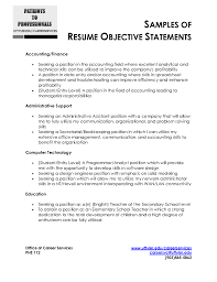 cover letter professional objectives for resumes sample objectives cover letter superb impressive resume objectives brefash samples ziptogreen com objectivesprofessional objectives for resumes extra medium