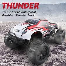 JJR/C <b>Q48</b> Thunder RC <b>Big</b> Foot Truck 4WD 1/10 Brushless 70km/h ...