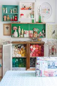 craft supplies storage home office shabby chic style with yarn storage yarn storage arts arts crafts home office
