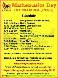 mathematics day 2015