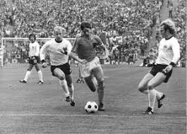 the history of football soccer johan cruijff with the ball