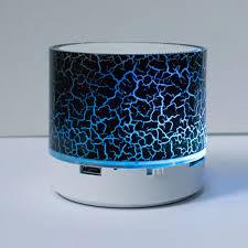 <b>Portable Mini</b> Bluetooth Speakers <b>Wireless</b> Hands Free <b>LED</b> ...