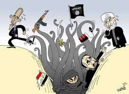 Image result for iran isis cartoons