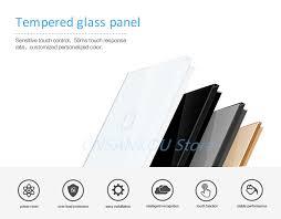 <b>Cnskou EU Standard</b>, Door Bell Touch Switch,White <b>Crystal</b> Glass ...