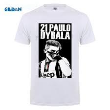 funny <b>men</b> t shirt 2017 tide brand short sleeve T shirt <b>Paulo</b> Dybala ...