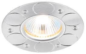Встраиваемый <b>светильник Ambrella light A808</b> AL, алюминий ...