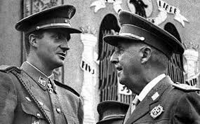 El actual rey y el dictador fallecido