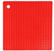 """<b>Подставка под горячее</b> FidgetGo """"Квадрат"""", цвет: красный, 18,5 х ..."""
