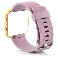 Bracelet for Fitbit Blaze Band <b>Soft Silicone pure color</b> Sports Watch ...