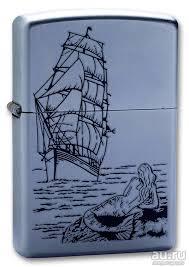 <b>Зажигалка Zippo 205 Mermaid</b> (ZIPPO Mfg.Co.Bradford.P.A., MADE ...