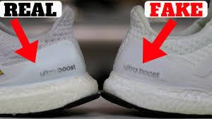 $50 FAKE vs $180 REAL UltraBOOST Comparison - YouTube