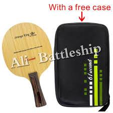 Original <b>61second Strange King Table</b> Tennis racket blade Ping ...