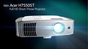 <b>Acer H7550ST</b> - Full HD Short-throw Projector (features and ...