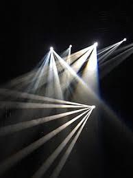 beams shining through water based haze in a photo studio setting beams lighting