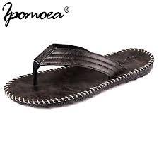 Ipomoea 2019 <b>Summer</b> Cool New Arrival Men <b>Flip</b> Flops British ...