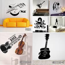 Creative Art Guitar <b>Wall Stickers</b> Home Decor DIY <b>Musical</b> ...