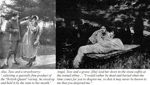 the worst couples in literature the long victorian c  illustrations from early additions of tess of the d urbervilles alec and tess plus