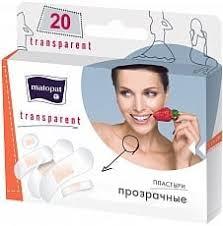Купить <b>Пластыри Matopat Transparent</b>, <b>20 шт</b>. по доступной цене