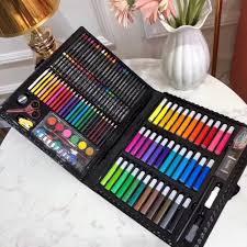 <b>150pcs</b>/<b>set Art</b> Supplies Crayon Water Color <b>Drawing Children</b> ...