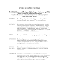 resume example reference