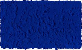 Yves Klein: 'Untitled: Blue monochrome – IKB 45, 1960