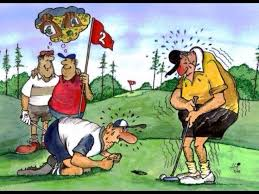 Image result for golfers without balls cartoon\