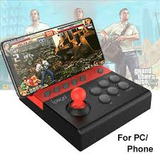 PG-9135 <b>Arcade</b> Joystick Bluetooth USB Fight Stick Controller ...