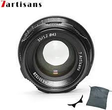 7artisans 35mm F1.2 APS-C Manual Focus Lens ... - Amazon.com