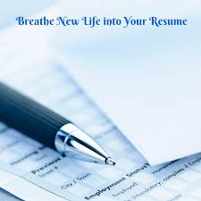 how to breathe new life into your resume