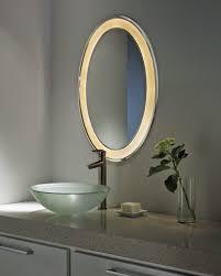 modern bathroom mirror lights round mirror embellished with yellow light bathroom lighting lighting mirrors