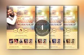 church music workshop flyer template by design bundles church music workshop flyer template example image 4