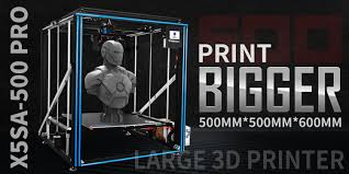 <b>Large Size</b> 3d Printer Kit | <b>Tronxy</b> X5SA-500 Pro Ultra-quiet Auto ...