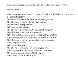 cause and effect essays   and effect essay