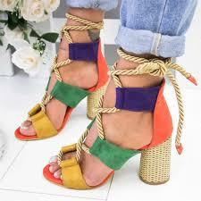 <b>MoneRffi 2019 New Fashion</b> Summer Women Sandals Female ...