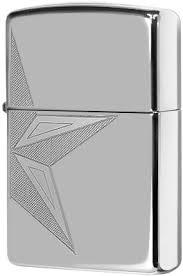 250 <b>Half Star Зажигалка Zippo</b>, High Polish Chrome