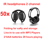 Dvd player wireless headphones