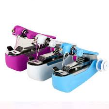 <b>Mini Sewing</b> Machine <b>Needlework Cordless</b> Single Hand Held ...