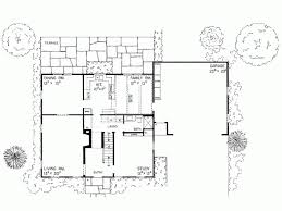 Eplans Colonial House Plan   Simple Saltbox   Square Feet and    Level