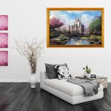 <b>digital oil</b> painting castle <b>diy oil</b> painting by numbers kits tower ...